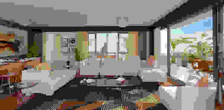 Sky Novita Kurtköy Modern Oturma Odası apak mimarlık Modern
