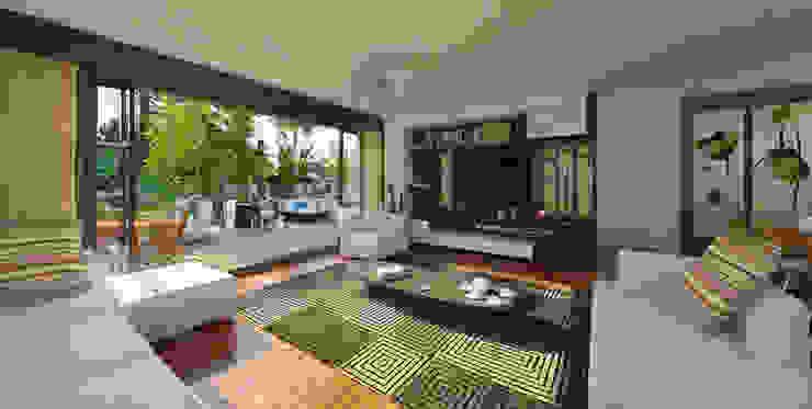 apak mimarlık Modern Living Room
