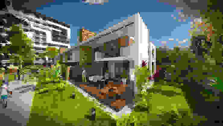 Дома в стиле модерн от apak mimarlık Модерн