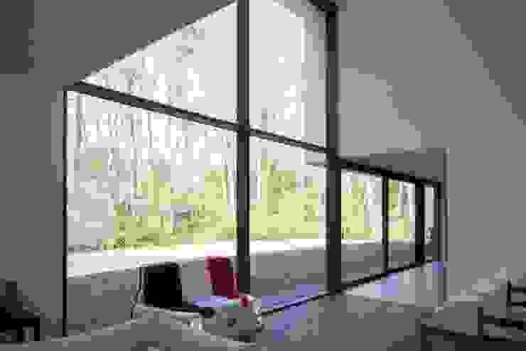 Modern living room by De Plankerij BVBA Modern Wood Wood effect