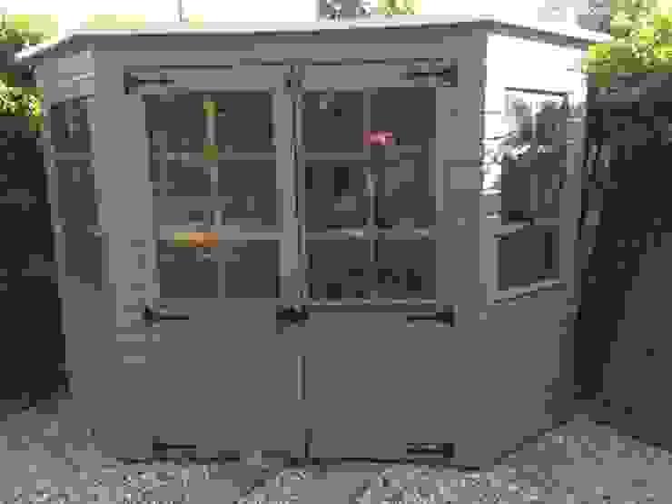 Summer house Cornus Garden Design Modern Garden Solid Wood Grey