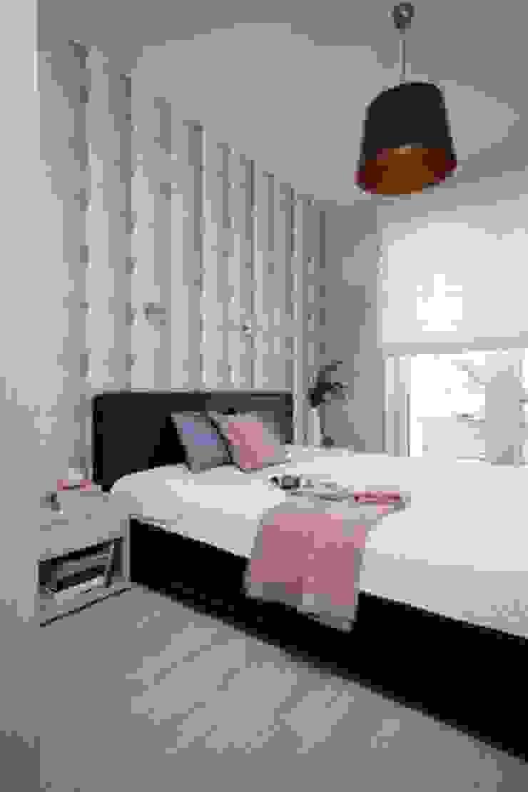 Phòng ngủ phong cách tối giản bởi ZIZI STUDIO Magdalena Latos Tối giản