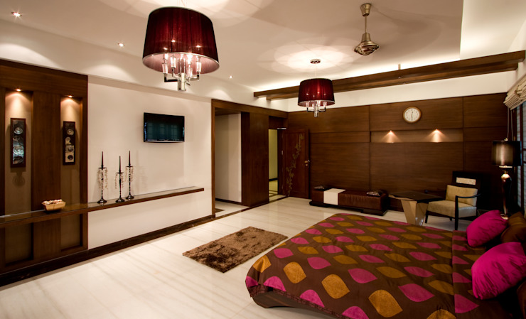 Residential Modern style bedroom by Prabu Shankar Photography Modern