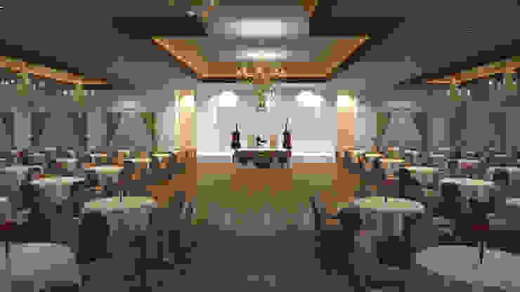 Düğün Salonu İç Tasarım ucdee