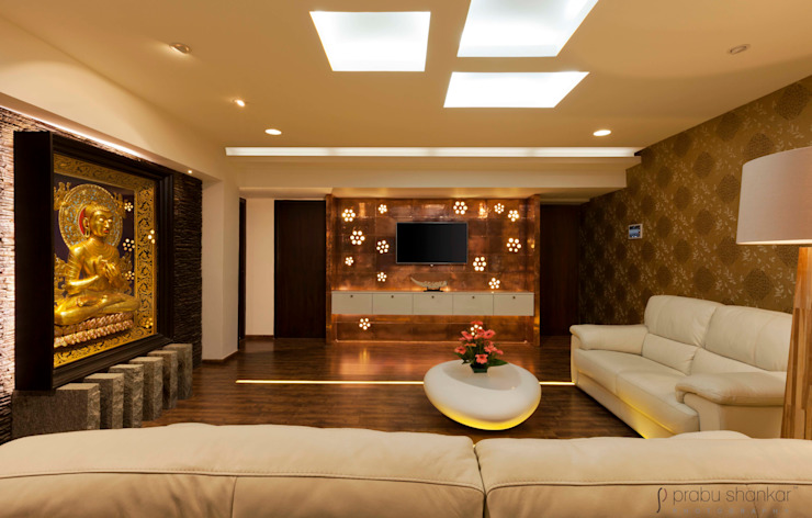Modern Living Room by Prabu Shankar Photography Modern