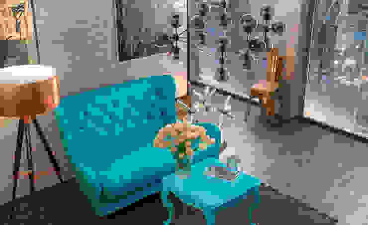 Отзыв Living room (Fall) Гостиные в эклектичном стиле от Дмитрий Каючкин Эклектичный