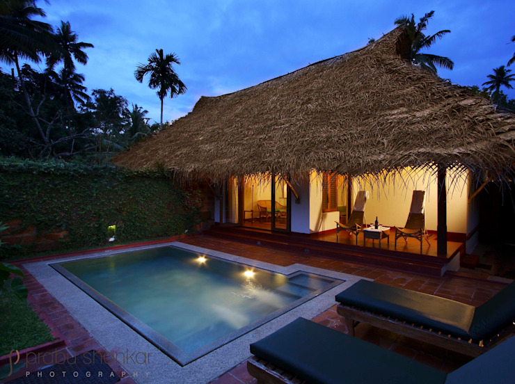 Hotels & Resorts Rustic style pool by Prabu Shankar Photography Rustic