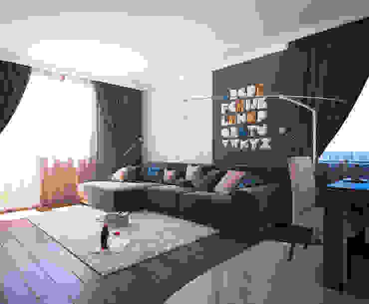 Ruang Keluarga Modern Oleh Insight Vision GmbH Modern