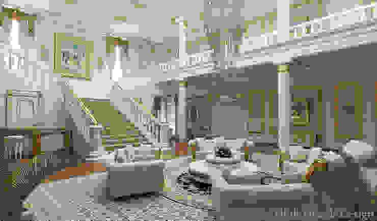 Residance VIP Klasik Oturma Odası HİSARİ DESIGN STUDIO Klasik