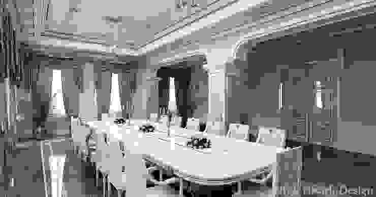 Residance VIP Klasik Yemek Odası HİSARİ DESIGN STUDIO Klasik