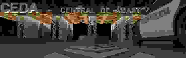 [ DGS ] CENTRAL DE ABASTO Centros comerciales de estilo industrial de DGS ARQUITECTOS, S. A. DE C. V. Industrial
