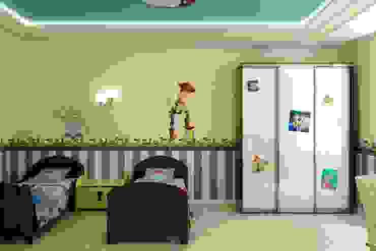 Stanza dei bambini in stile classico di Цунёв_Дизайн. Студия интерьерных решений. Classico