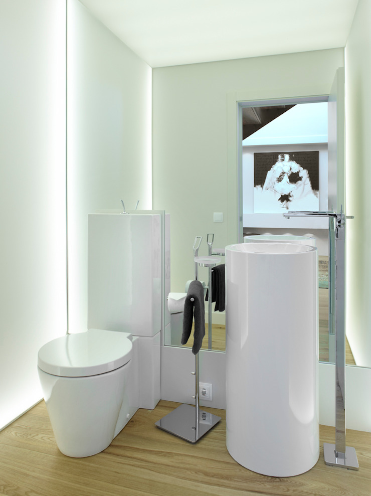 Mediterranean style bathrooms by Molins Design Mediterranean Plastic