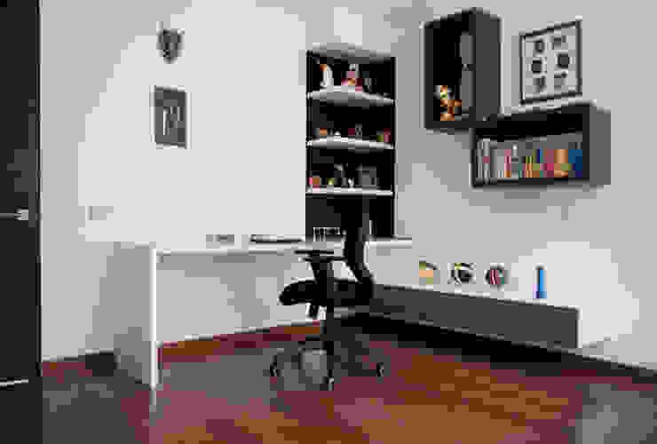 Mueble de Estudio para la Habitación Dormitorios infantiles de estilo moderno de KDF Arquitectura Moderno