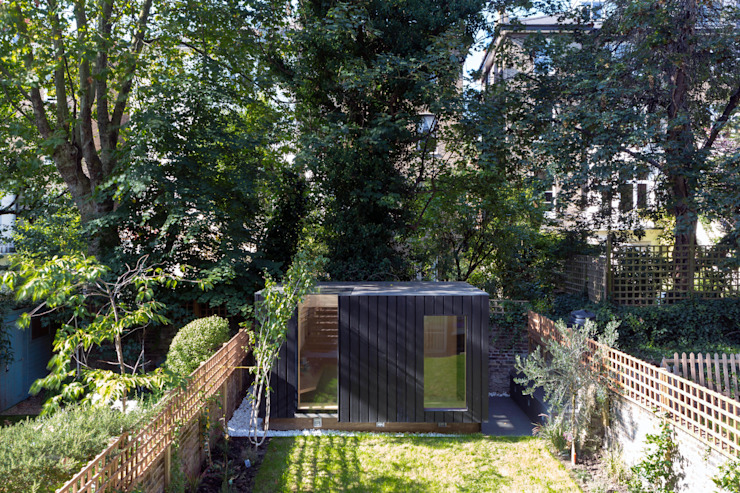 Shadow Shed Neil Dusheiko Architects Case moderne