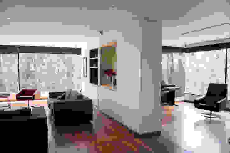 Zona Social Livings de estilo moderno de KDF Arquitectura Moderno