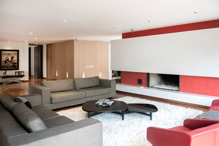 Sala Salas modernas de KDF Arquitectura Moderno