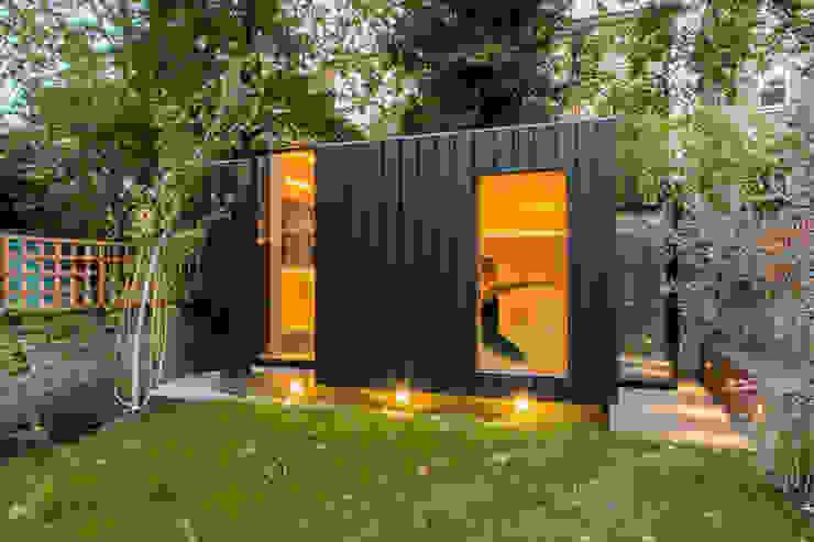 Shadow Shed Casas modernas por Neil Dusheiko Architects Moderno
