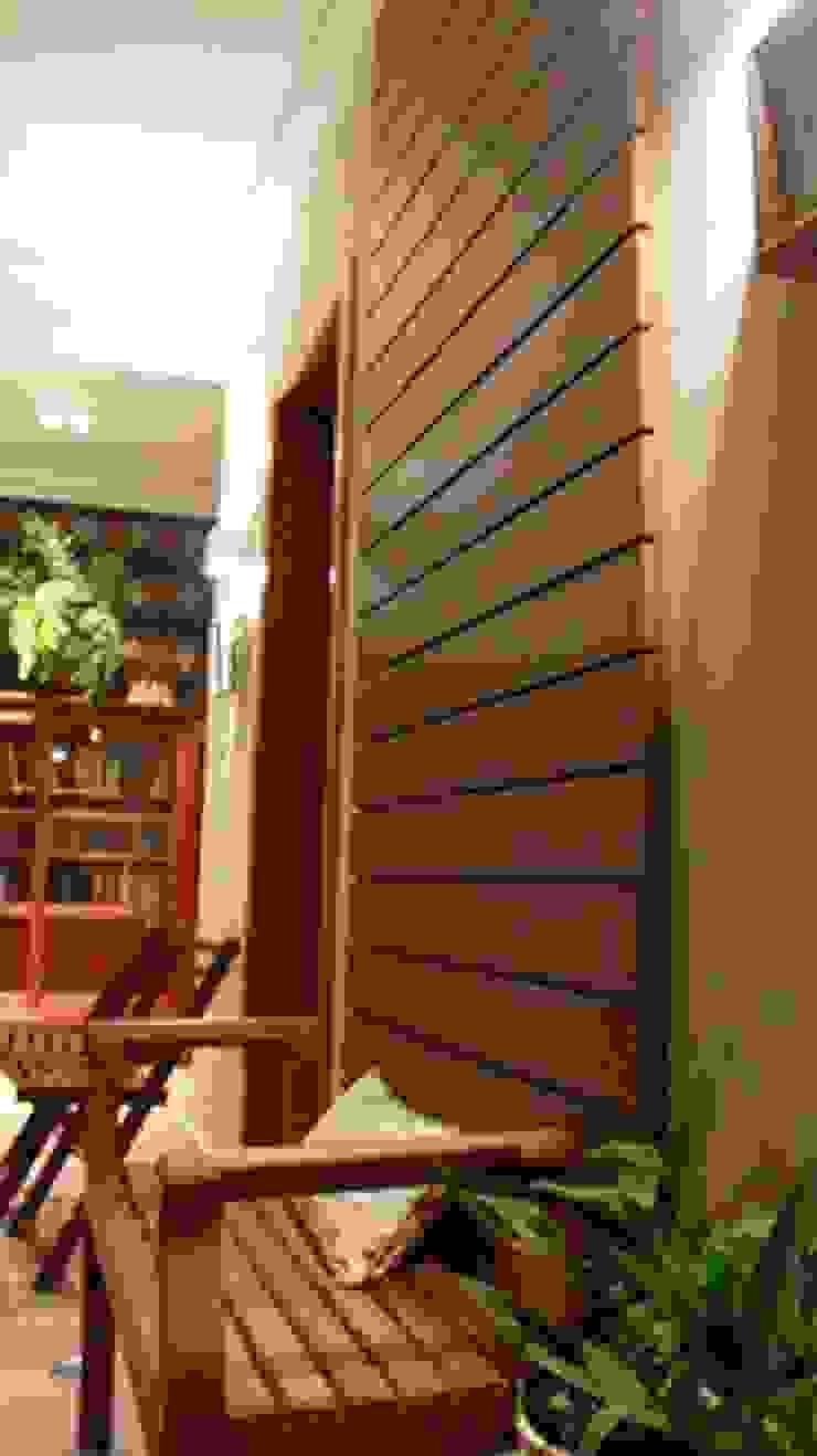 Residencial Paraíso Varandas, alpendres e terraços ecléticos por Rentes Arquitetura e Interiores Eclético