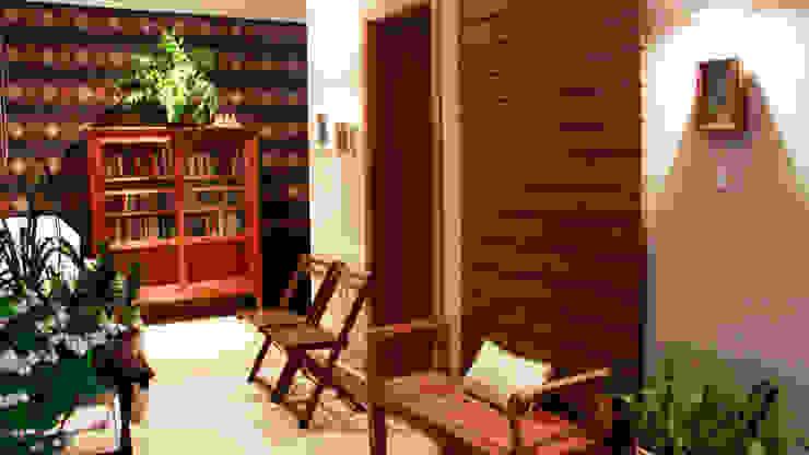 Residencial Paraíso Escritórios ecléticos por Rentes Arquitetura e Interiores Eclético
