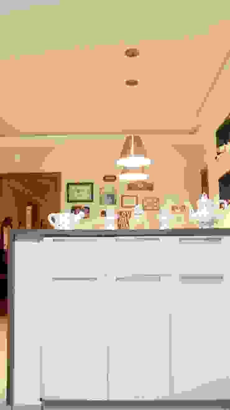 Residencial Paraíso Cozinhas ecléticas por Rentes Arquitetura e Interiores Eclético