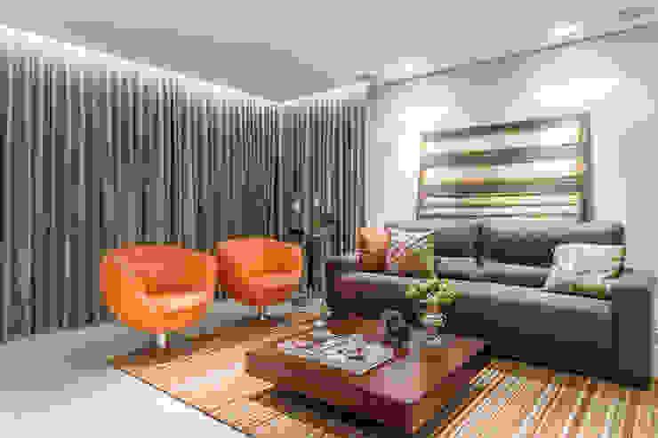 Salas modernas de Morávia - Arquitetura e Interiores Moderno