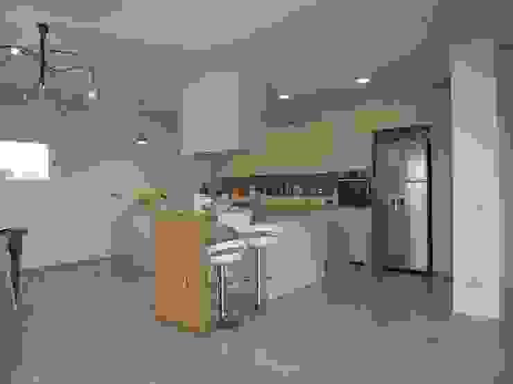 モダンな キッチン の Studio di Architettura e Ingegneria Brasina-Rubino モダン