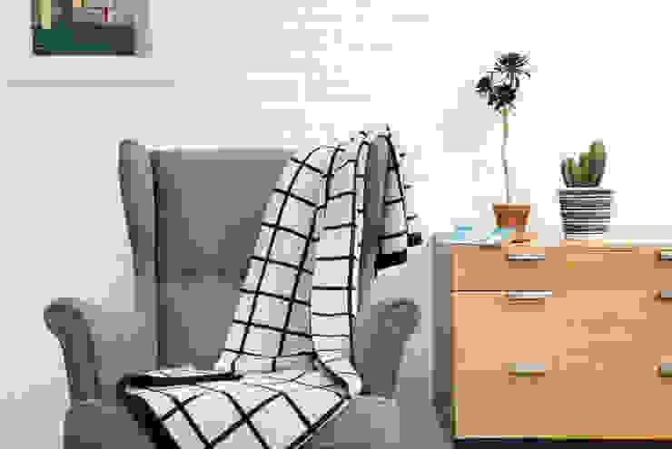 Grid Blanket Seven Gauge Studios Living roomAccessories & decoration Wol