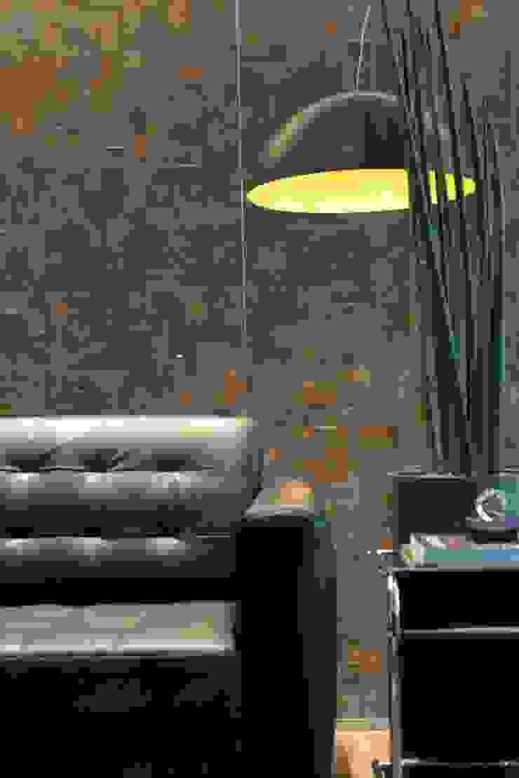 Office A.M. Espaços comerciais modernos por Tiago Rocha Interiores Moderno