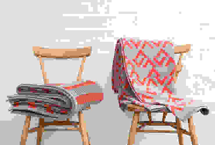 Rack & Geo Blankets Seven Gauge Studios Living roomAccessories & decoration Wool