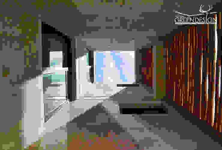 Pasillos, vestíbulos y escaleras de estilo tropical de Yucatan Green Design Tropical