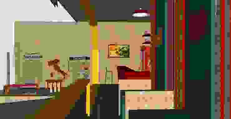 Espaços de restauração modernos por iS arquitetura Moderno