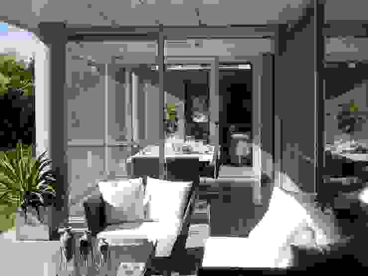 Casa NR Balcones y terrazas modernos: Ideas, imágenes y decoración de gatarqs Moderno