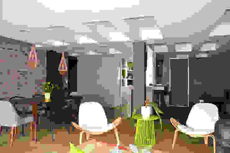 APARTAMENTO 97 Salas de estilo ecléctico de santiago dussan architecture & Interior design Ecléctico