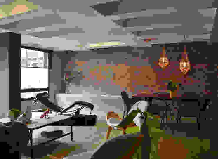 Woonkamer door santiago dussan architecture & Interior design,