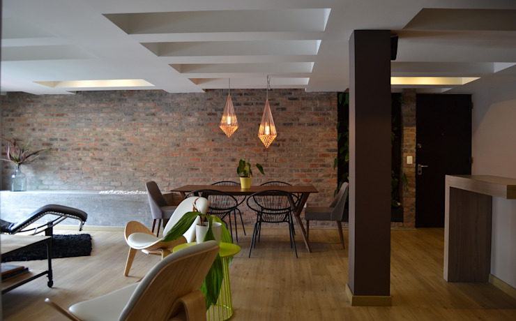 Eclectic style dining room by santiago dussan architecture & Interior design Eclectic