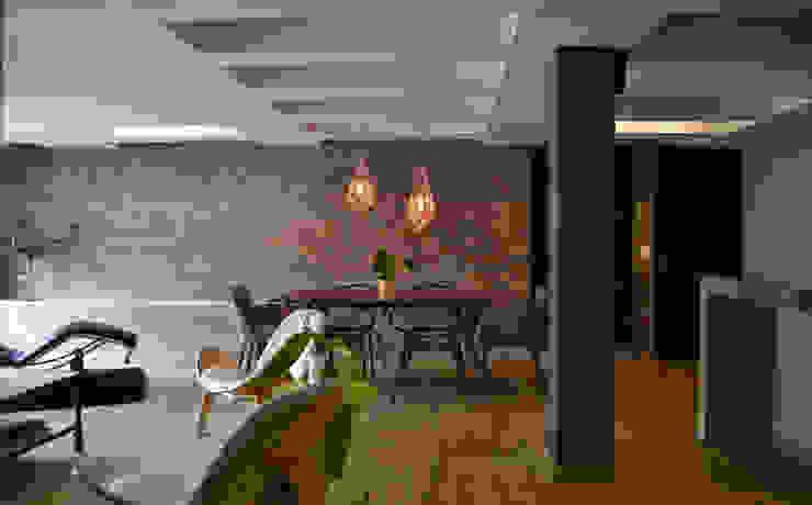 โดย santiago dussan architecture & Interior design ผสมผสาน