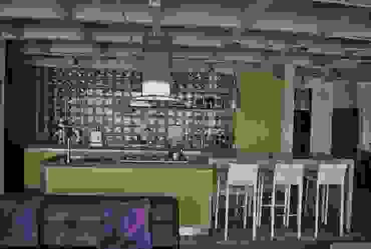 Cozinhas ecléticas por ESTUDIO DUSSAN Eclético