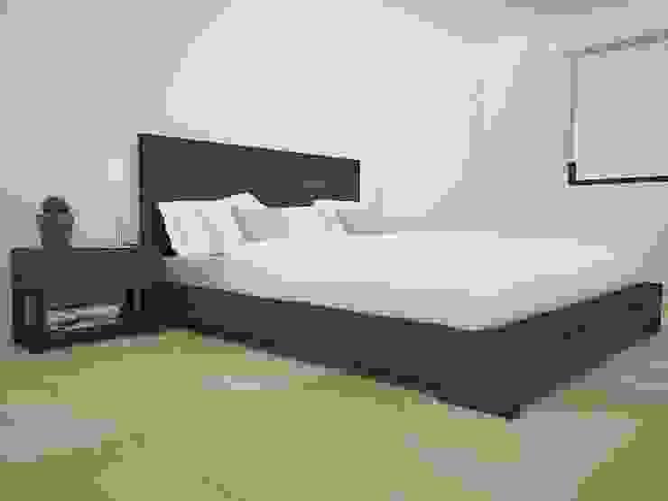 Propuesta enchapado Wengue Dormitorios modernos de Teorema Arquitectura Moderno