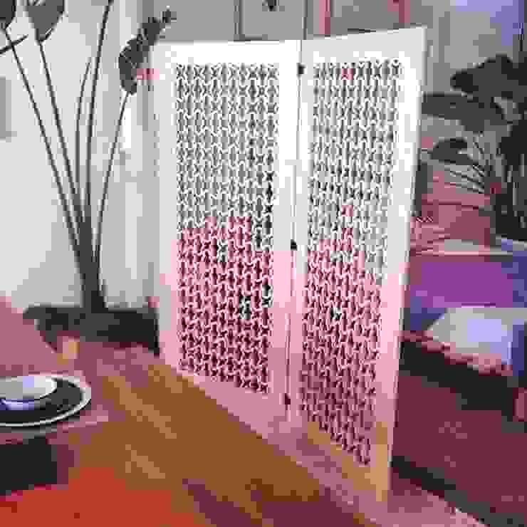 BIOMBO Clorofilia Puertas y ventanasCortinas Contrachapado Acabado en madera