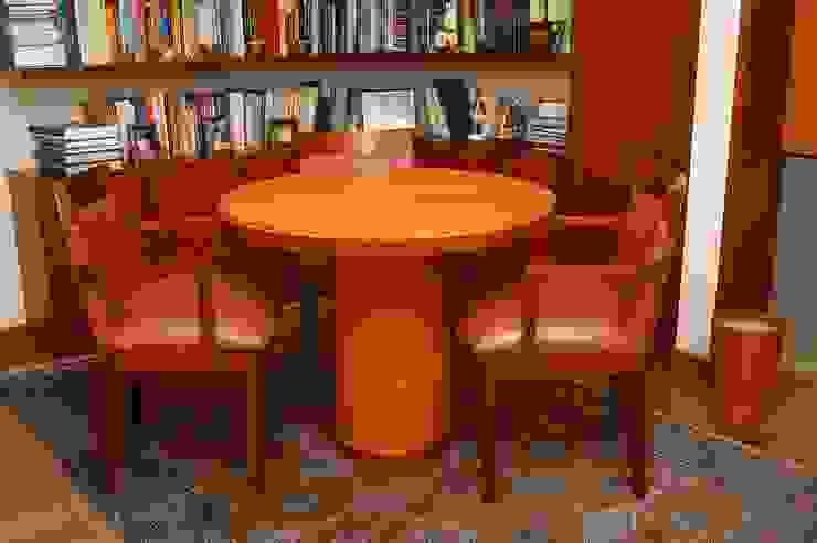 Mesa para despacho de Justiniano Alfonso Moderno Piel Gris