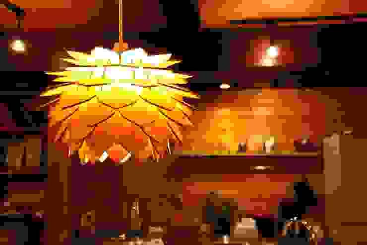 ナカオランプ ห้องทานข้าวไฟห้องทานข้าว แผ่นไม้อัด Plywood Yellow