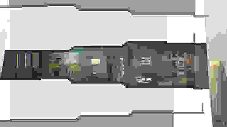 Urban Flats Modern living room by organic Arts+Architecture Modern