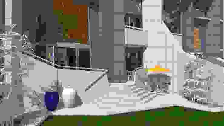 Urban Flats Modern balcony, veranda & terrace by organic Arts+Architecture Modern