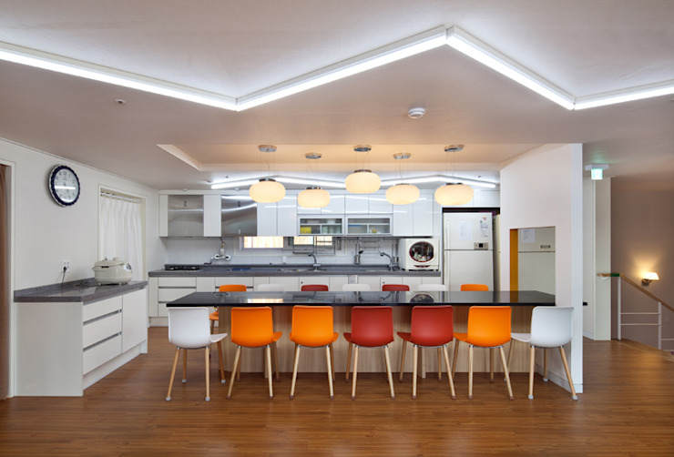 Dapur Modern Oleh 건축사사무소 오퍼스 Modern