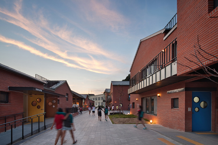 SOOGOOK VILLAGE 모던스타일 주택 by 건축사사무소 오퍼스 모던