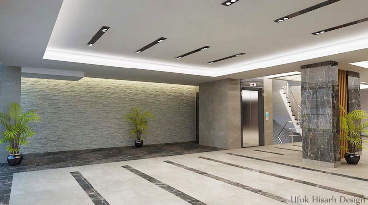 Bangunan Kantor Modern Oleh HİSARİ DESIGN STUDIO Modern