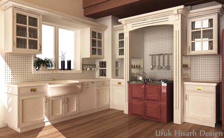 Modern kitchen by HİSARİ DESIGN STUDIO Modern