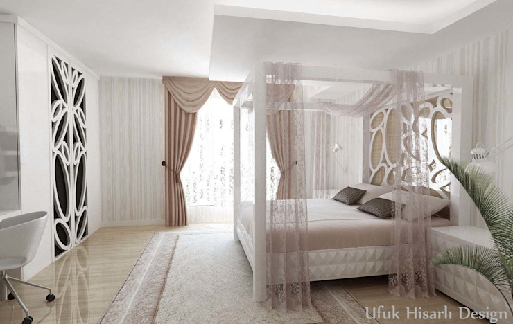 Modern style bedroom by HİSARİ DESIGN STUDIO Modern