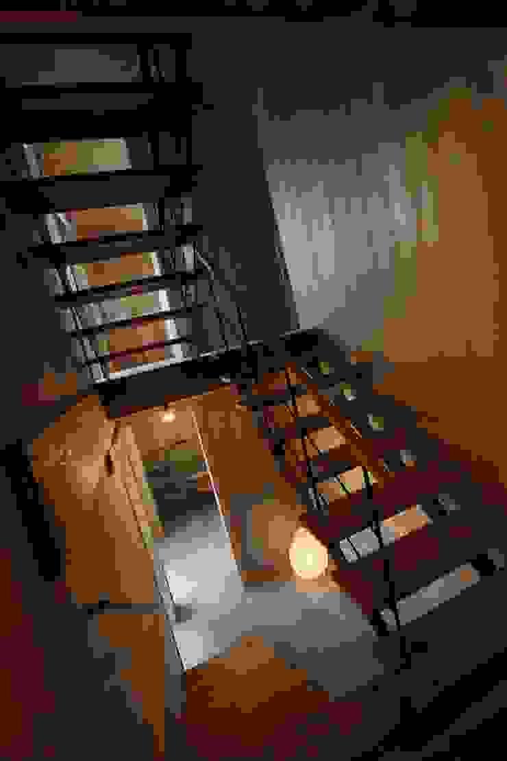階段 モダンスタイルの 玄関&廊下&階段 の TOGODESIGN モダン 木 木目調